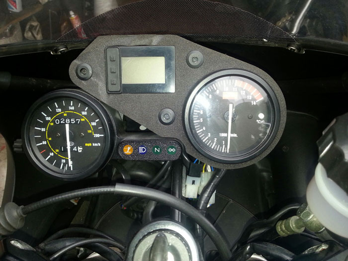 2003 Aprilia RS125 GP1 Gauges