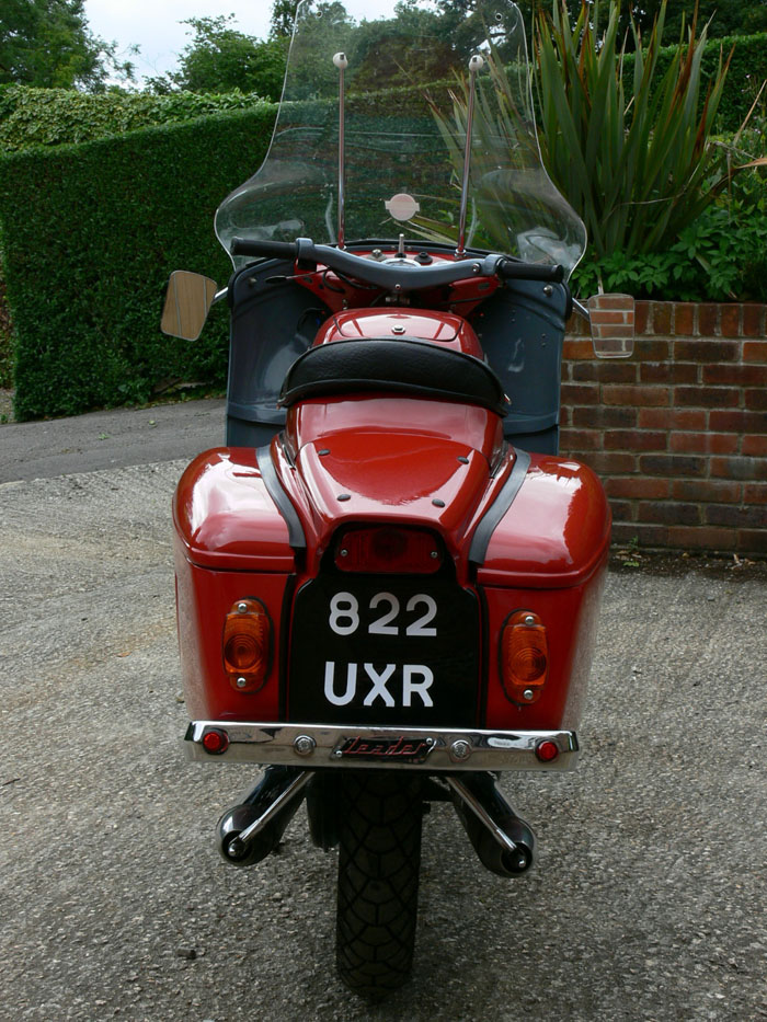1959 Ariel Leader 250cc Back