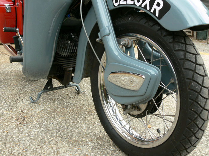 1959 Ariel Leader 250cc Front Wheel