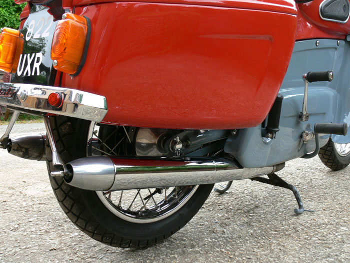 1959 Ariel Leader 250cc Rear Wheel