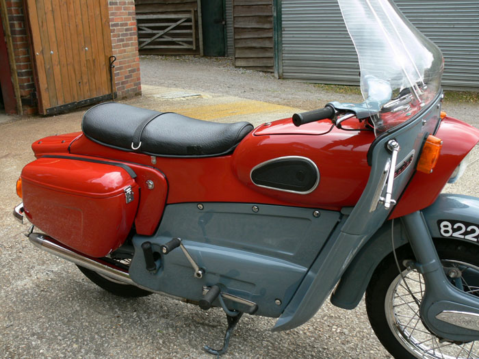 1959 Ariel Leader 250cc Side