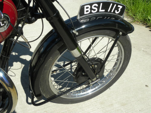 1952 Ariel 350 Red Hunter NH Front Wheel
