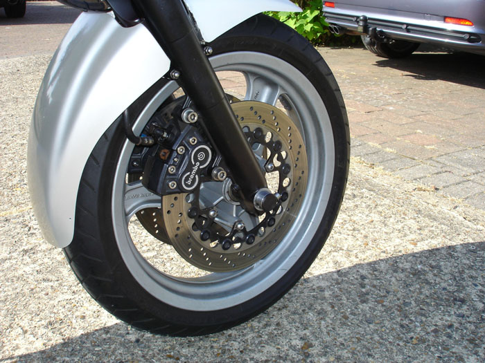 1991 BMW K100RS 16V Front Wheel Brembo Brakes