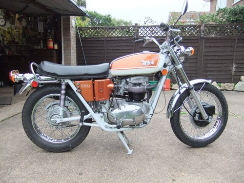 1971 BSA A65 Firebird Scrambler SRM Conversion 2