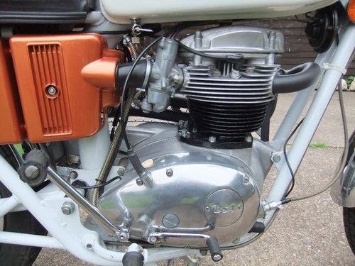 1971 BSA A65 Firebird Scrambler SRM Conversion Engine