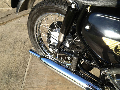 1965 BSA A65 Rear Wheel