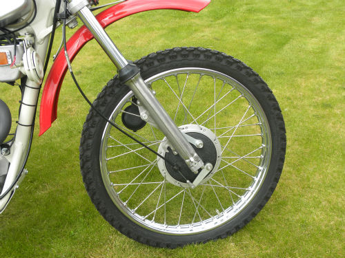 1971 BSA B25 Victor Trail Front Wheel