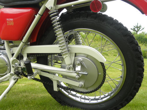 1971 BSA B25 Victor Trail Rear Wheel
