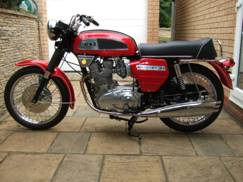 1969 BSA Rocket 3 MK1 Left Side