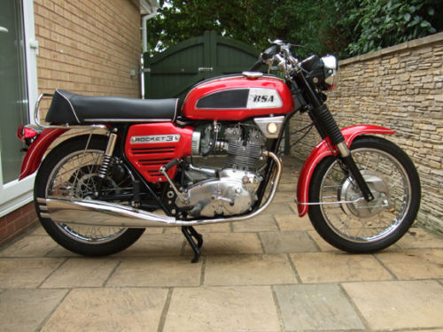 1969 BSA Rocket 3 MK1 Right Side