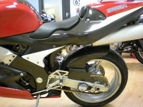 1999 bimota sb8r super sport 1000cc rear wheel