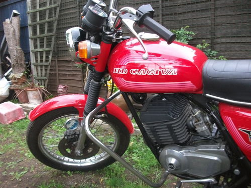 1978 HD Cagiva SST350 Front Wheel