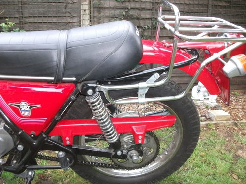 1978 HD Cagiva SST350 Rear Wheel