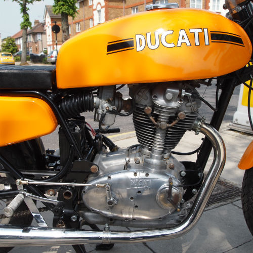 1975 Ducati 350 Cafe Racer Engine
