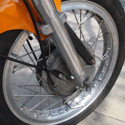 1975 Ducati 350 Cafe Racer Front Wheel