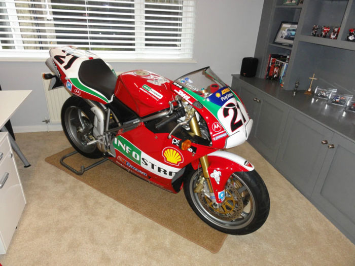 2004 ducati 998s official troy bayliss limited edition replica 1