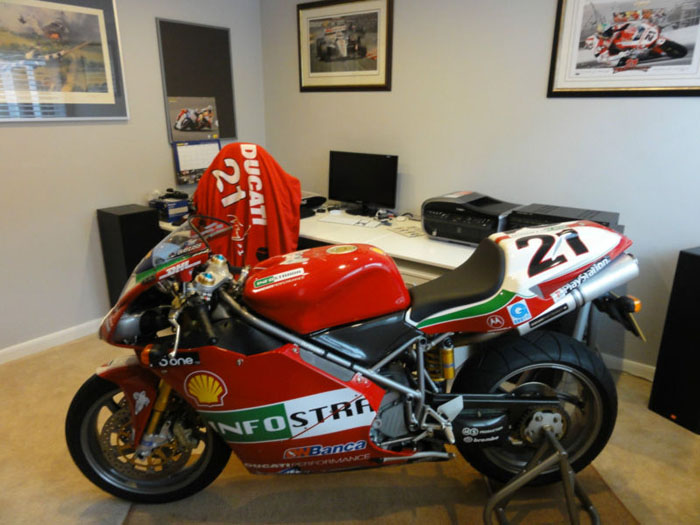 2004 ducati 998s official troy bayliss limited edition replica 2