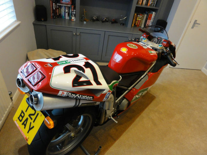 2004 ducati 998s official troy bayliss limited edition replica 3