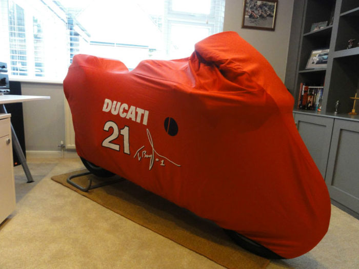 2004 ducati 998s official troy bayliss limited edition replica cover