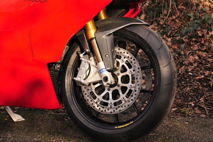 2003 ducati 999r brand new front wheel brakes