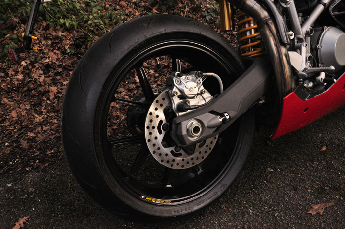 2003 ducati 999r brand new rear wheel