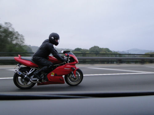 2002 ducati 750 super sport 750 ie on the road
