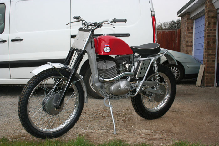 1966 Greeves 250 Trials 1