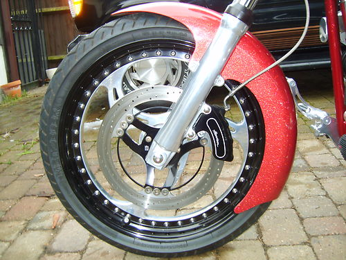 2002 Customised Harley-Davidson FXST Softail Front Wheel