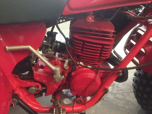1981 Honda ATC250R Engine
