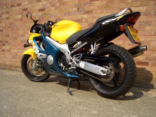 featured bikes honda cbr600 1999 honda cbr 600 fx yellow ref 91. Black Bedroom Furniture Sets. Home Design Ideas
