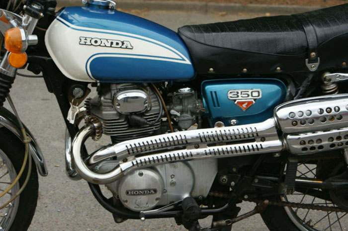 1972 honda cl350 engine 2