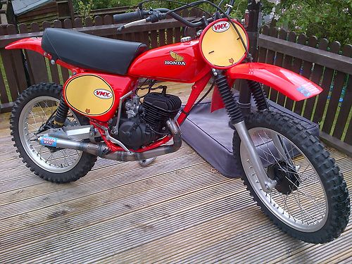1976 Honda CR125 DMC Elsinore Race Bike 1