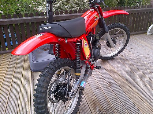 1976 Honda CR125 DMC Elsinore Race Bike 2