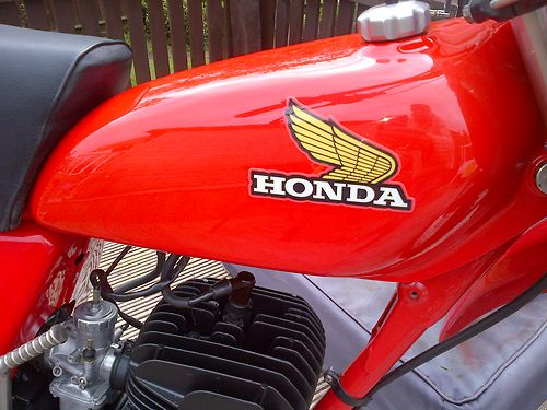 1976 Honda CR125 DMC Elsinore Race Bike Tank