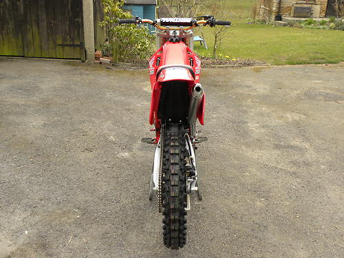1989 honda cr250 back