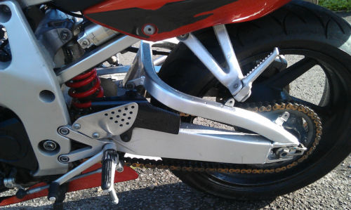 1999 honda cbr 900 firblade rear wheel suspension
