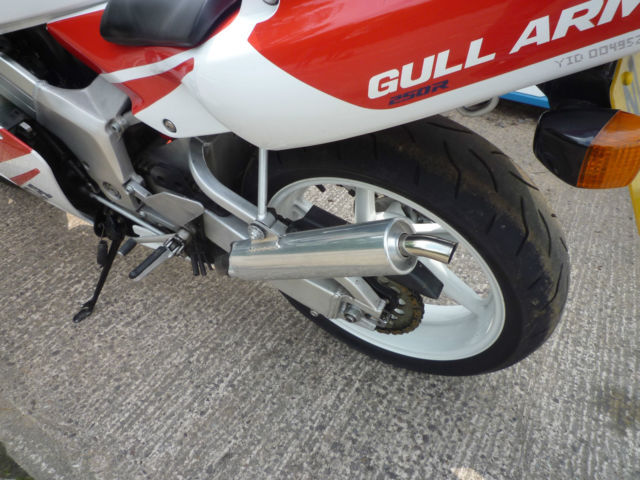 1995 Honda NSR250R Rear Wheel Exhaust
