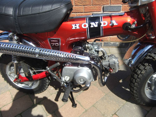 1973 Honda ST 70cc Monkey Bike Engine