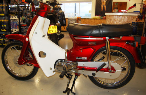 1991 Honda C90 Cub Left Side