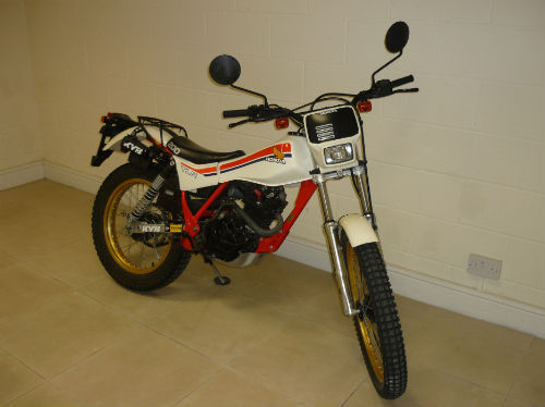 1983 honda tlr200 tlr 200 twin shock trial bike 1