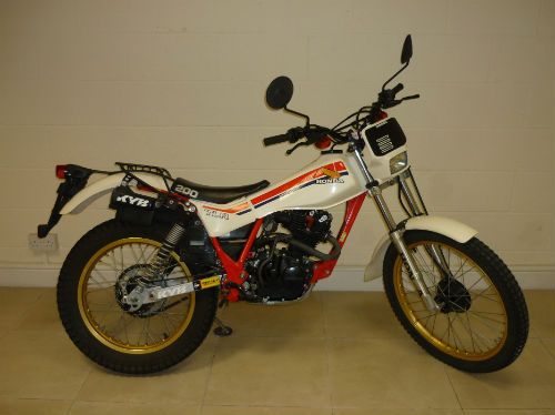 1983 honda tlr200 tlr 200 twin shock trial bike 2