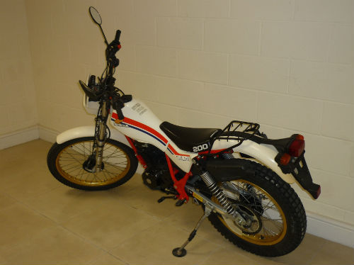 1983 honda tlr200 tlr 200 twin shock trial bike 5