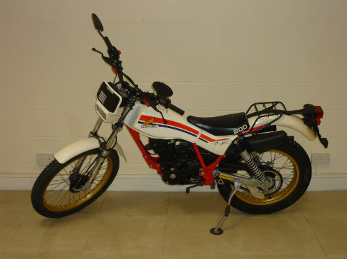 1983 honda tlr200 tlr 200 twin shock trial bike 6