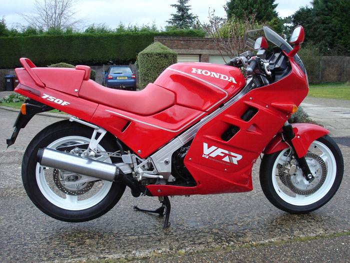 Featured Bikes - Honda - VFR - 1989 Honda VFR750F-K (ref 600)