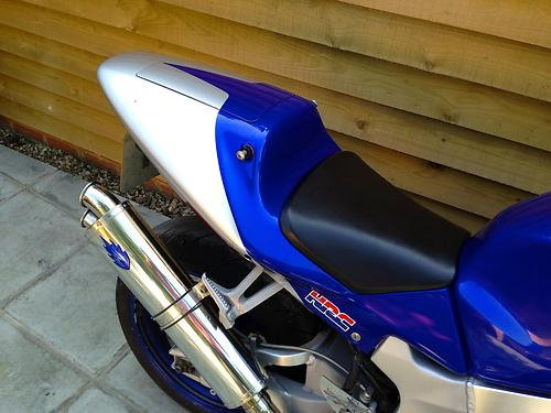 2000 Honda VTR 1000 SP1 Seat Exhaust