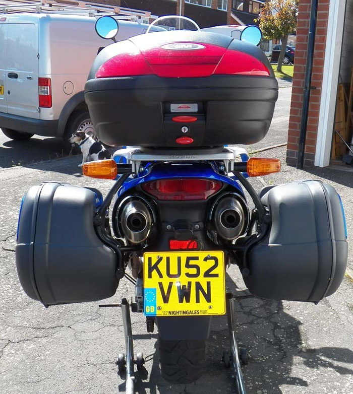 2002 Honda Varadero XL1000 Rear