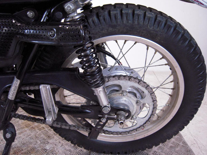 1973 honda xl250 motorsport rear wheel suspension