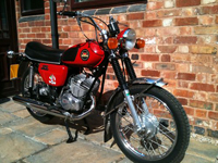 131 1977 barron 125cc icon