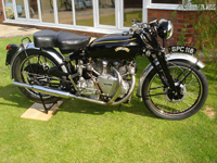 138 1951 vincent rapide black 1000cc icon