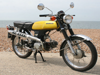 159 1972 honda ss50z moped icon